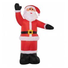 3D фигура надувная Neon-night Дед Мороз приветствует 511-112 (2.4м)