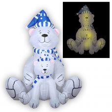 3D фигура надувная Neon-night Медведица с медвежонком 511-205