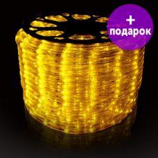 Дюралайт LED-Raund-3W-1M-220V желтый /1М