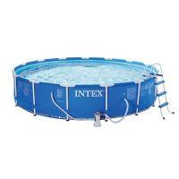 Каркасный бассейн Intex Metal Frame 28262 (732x132 см, 47241 л) + набор