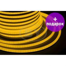 Гибкий неон LED Neon-Night желтый /1М