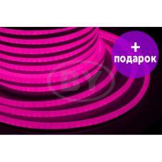 Гибкий неон LED Neon-Night розовый /1М