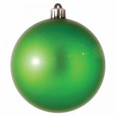 Шар ёлочный зелёный Ø 200 мм (1 шт)
