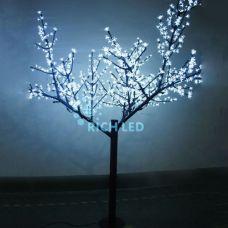 Светодиодное дерево Сакура 250 Rich LED белый, синий