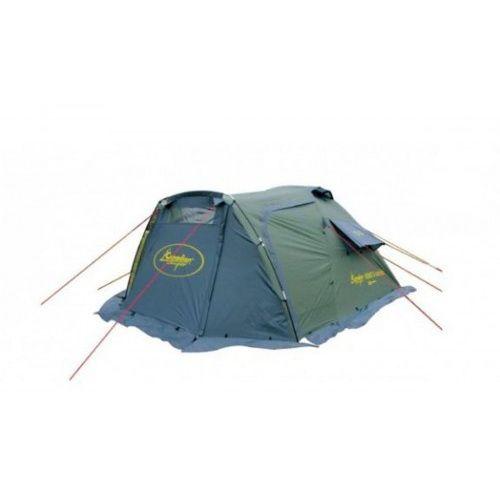 Туристическая палатка Canadian Camper Karibu 3 Comfort (трёхместная)