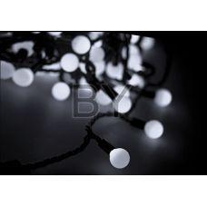 "Светодиодная гирлянда Neon-night ""LED шарики"" белый 10 м Ø 38 мм"