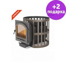 Банная печь Везувий Легенда Ретро 24 Ковка (205)