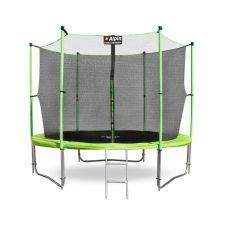 Батут Alpin Inside 3.12 м с защитной сеткой и лестницей