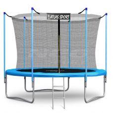 Батут Atlas Sport 312 см (10ft) (внутренняя сетка и лестница) BLUE
