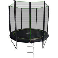 Батут Misoon 8ft-252 BASIC+лестница внешняя сетка