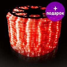 Дюралайт LED-Raund-3W-1M-220V красный /1М