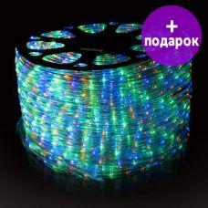 Дюралайт LED-Raund-3W-1M-220V мультиколор /1М