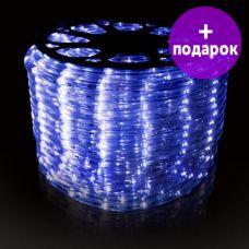 Дюралайт LED-Raund-2W-1M-220V синий /1М