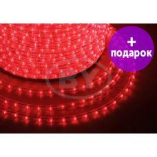 Дюралайт LED Neon-Night 36 LED/m красный свечение с динамикой /1М