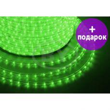 Дюралайт LED Neon-Night 36 LED/m свечение с динамикой зеленый /1М