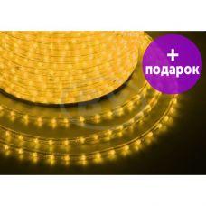 Дюралайт LED Neon-Night 36 LED/m желтый мерцание  /1М