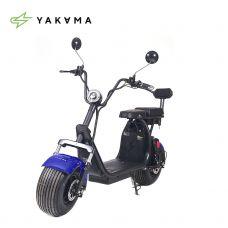 Электросамокат YAKAMA АР-Н009-2 голубой