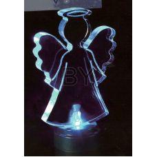 """Фигура Neon-night """"Ангел 2D на подставке"""""""