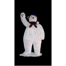 """Фигура Neon-night """"Белый медведь"""""""