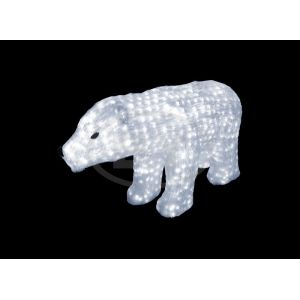 "Фигура Neon-night ""Белый медведь"" 60 см"