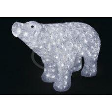 "Фигура Neon-night ""Белый медведь"" 80*55 см"