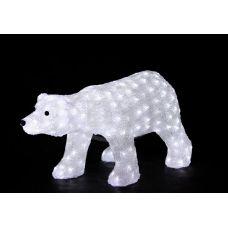 "Фигура Neon-night ""Белый медведь"" 81*45 см"