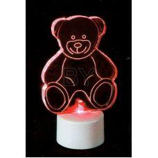 """Фигура Neon-night """"Мишка 2D на подставке"""""""