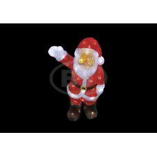 """Фигура Neon-night """"Санта Клаус приветствует"""" 30 см"""