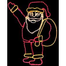 """Фигура Neon-night """"Санта Клаус с мешком подарков"""""""