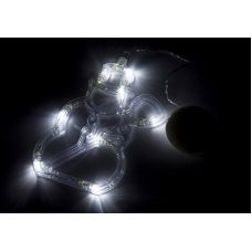 """Фигура Neon-night """"Снеговик"""" на присоске с подвесом"""