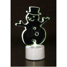 "Фигура Neon-night ""Снеговик в шляпе 2D"""