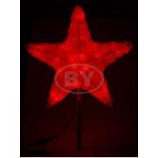 "Фигура Neon-night ""Звезда"" красный 30 см"