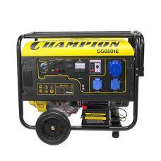 Генератор бензиновый CHAMPION GG6501+ATS