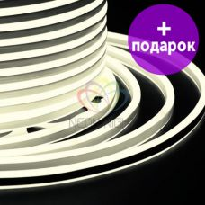 Гибкий неон двухсторонний Neon-Night теплый белый /1М
