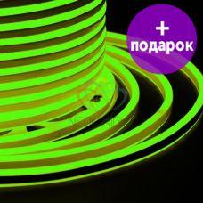 Гибкий неон двухсторонний Neon-Night зелёный /1М