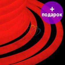 Гибкий неон LED 360 Neon-Night красный /1М