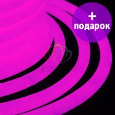 Гибкий неон LED 360 Neon-Night розовый /1М