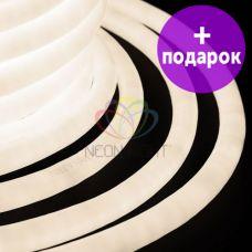 Гибкий неон LED 360 Neon-Night теплый белый /1М