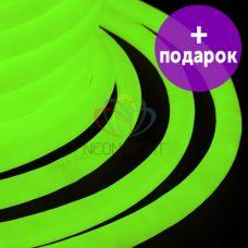 Гибкий неон LED 360 Neon-Night зелёный /1М