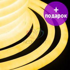 Гибкий неон LED 360 Neon-Night желтый /1М