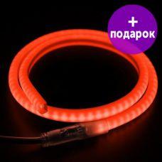 """Гибкий неон в форме """"D"""" Neon-Night красный /1М"""