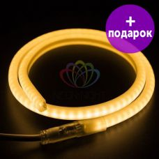 """Гибкий неон в форме """"D"""" Neon-Night теплый белый /1М"""