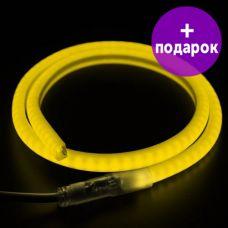"""Гибкий неон в форме """"D"""" Neon-Night желтый /1М"""