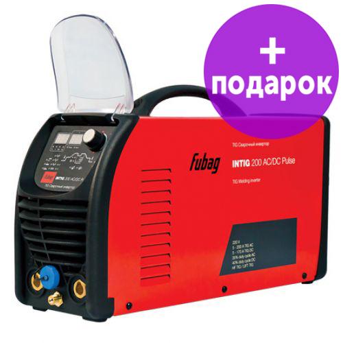 Инвертор сварочный аргонодуговой FUBAG INTIG 200 AC/DC PULSE
