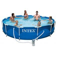 Каркасный бассейн Intex Metal Frame 28212NP (366х76 см)
