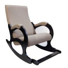 Кресло-качалка Бастион 4-2 с подножкой рогожка (UNITED 3)
