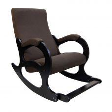 Кресло-качалка Бастион 4-2 с подножкой рогожка (UNITED 8)