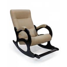 Кресло-качалка Бастион 2 с подножкой (рогожка, united 3)