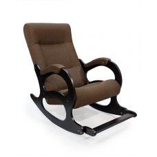 Кресло-качалка Бастион 2 с подножкой (рогожка, united 8)