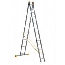 Лестница двухсекционная профессиональная Алюмет P2 9216